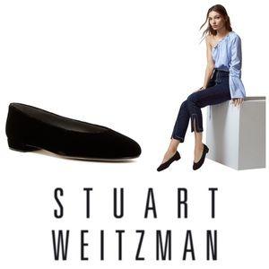 LIKE NEW Stuart Weitzman Marlow suede slip-on shoe
